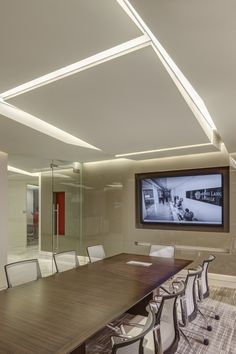 Jones Lang LaSalle Conference Room | Interior Design by H.Hendy Associates