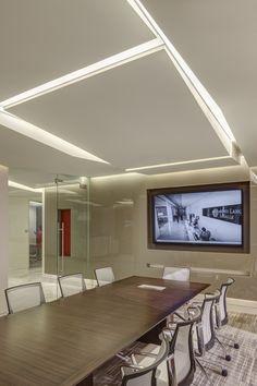 Jones Lang LaSalle Conference Room   Interior Design by H.Hendy Associates