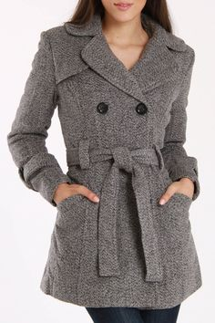 Wool Blend Coat - love this!!