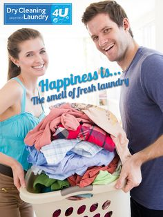 There is nothing quite like fresh laundry – Bring in your washing and start your week the only way it should be.