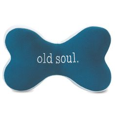 Old Soul Squeaky Bone Large Teal, $6.95, now featured on Fab.
