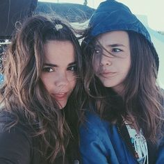 maia-mitchell-and-bailee-madison-selfie