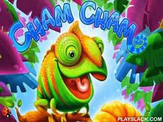Cham Cham  Android Game - playslack.com , provided  a funny person Cham Chama with mandarins, using a weapon, loop authority, entrances, or changing earth stage, in the game Cham Cham.