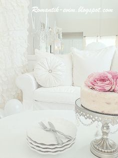Shabby chic decorating ideas Romantic Shabby chic Masal evim