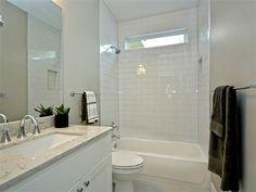 white tile guest bath