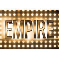Watch Intense New Trailer for Fox's Hip-Hop Drama 'Empire' ❤ liked on Polyvore featuring backgrounds and words