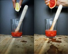 Preparing strawberry | bloodorange