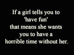 Hahahahaha... usually!!