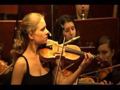(HD)Julia Fischer  -Saint saens Concerto N° 3 in B Minor Op 61 -2nd move...