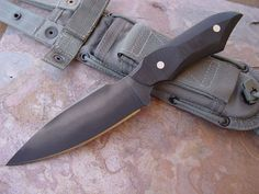 Fixed blade by Dervish Knives
