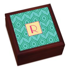 Ikat Personalized Keepsake Box