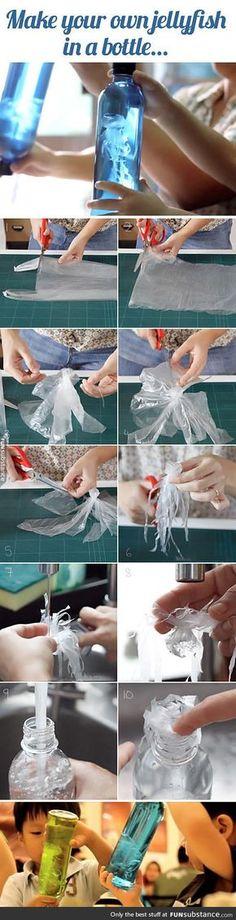Homemade jellyfish