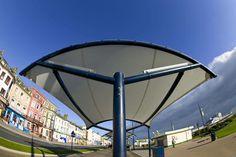 Abri en tissu pour espaces publics - CLASSROOM - Fabric Architecture