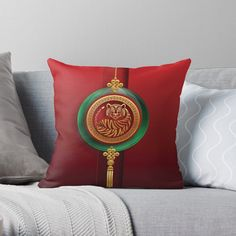 Chinese Holidays, All Holidays, Chinese New Year, Year Of The Tiger, Mid Autumn Festival, Jade, Throw Pillows, Art Prints, Printed