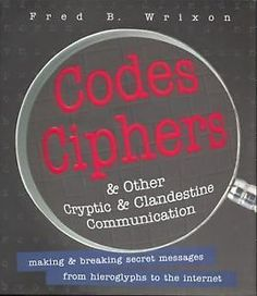 Fred B. Wrixon, Codes Ciphers & Other Cryptic & Clandestine Communication