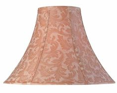 Lite Source CH111218 18Inch Lamp Shade Beige Brocade ** Continue to the product at the image link.