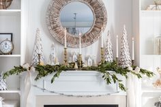 Go All Out With Your Mantle - ELLEDecor.com