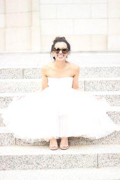 New York Fashion Week - Pink Tulle Skirt