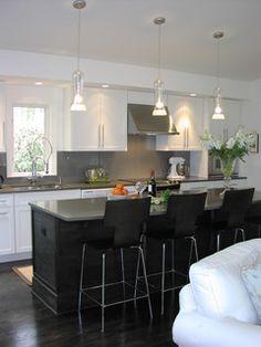 Mid Century Modern Kitchen - modern - kitchen - dc metro - by Victoria Larson Textiles