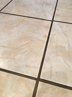 Dealing with dirty grout? Check out the easiest way to clean grout. See how to clean grout without a lot of scrubbing. Your grout will look like new again! Cleaning Floor Grout, Clean Bathroom Grout, Floor Tile Grout, Tile Grout Cleaner, Clean Grout, Bathroom Cleaning, House Cleaning Tips, Cleaning Hacks, Organizing Tips