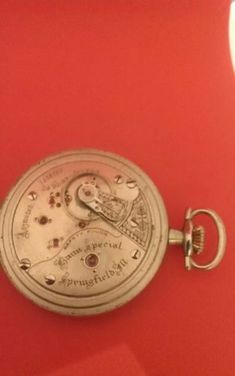 seth thomas railroad pocket watch