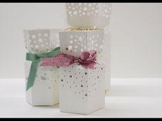 Sternen Verpackung mit dem Stanz-und Falzbrett bastelnStampin`Up! Produkte mit Anregungen der Hobbycompany
