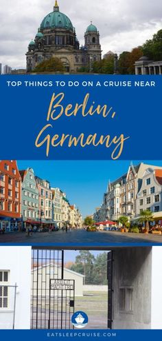 Are you are planning a cruise to the Baltic capitals that stops in Warnemunde (Berlin)? If so, check out our Top Things to Do Near Berlin, Germany on a Cruise. #EuropeTravel #cruise #Germany #Berlin #thingstodo #eatsleepcruise Cruise Europe, Cruise Port, Cruise Vacation, Germany Berlin, Visit Germany, Germany Travel, Cruise Destinations, Amazing Destinations, Brick Architecture