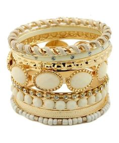 Stacked bangles