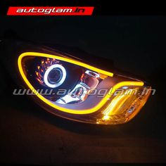 Hyundai Projector Headlights have wonderful output, it is compatible to any road and weather condition. These car headlights are must have for all Hyundai users. Projector Headlights, Car Headlights, Hidden Projector, Weather Conditions, Audi