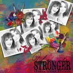 Stronger Than You Think, Thinking Of You, Scrapbooking, Painting, Art, Thinking About You, Art Background, Painting Art, Kunst