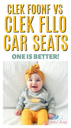 When you look a little bit closer, it's easier to see the main differences between the Clek Foonf and Clek Fllo Car Seats and from there, you can better decide which is best for your little one, your car and your family. Read on to choose the best! Baby Hacks, Mom Hacks, Newborn Baby Tips, Best Car Seats, Baby Care Tips, Baby Swag, Toddler Play, First Time Moms, Best Mom