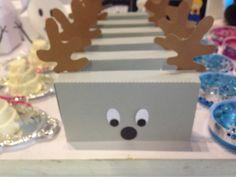 Decoração Frozen - caixa de Bis Sven
