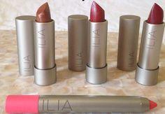 Embalagens e cores lindas - maquiagem #orgânica #100%natural - ILIA