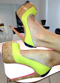 Ruthie Davis ♥ Love, love  love :-) Few heels give you comfort and style..... Sigh...