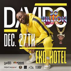 Davido Thirty Billion World Tour  Davidos Thirty Billion World Tour will climax at Eko Hotel onWednesday December 27.  Read also :New Date Is Set For Headies Award And Four New Categories Added   The concert started months back and has seen the singer performing at almost 30 locations.   Countries such asSwitzerland Belgium Denmark Finland Sweden and Norwayhave all welcomed Davido.  He has also visited other locations including13 cities in America as well as four Canadian cities. Davido also…