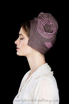 Straw Cloche, Behida Straw Hat by behidadolicmillinery on Etsy