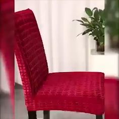 Dinning Room Chair Covers, Dining Chair Makeover, Chair Back Covers, Dining Decor, Dining Room Design, Skandinavisch Modern, Slipcovers For Chairs, Upholstered Dining Chairs, Apartment Makeover