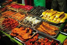 Manila Foodtrip Street Food From City Cheap And Many Kinds You Can Chooce Whatever Like