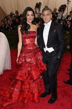 Amal Clooney Photos - 'China: Through The Looking Glass' Costume Institute Benefit Gala