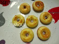 LA COCINA DE MIGUI Y FAMILIA: MINI DONUTS CON SABOR A GOFRES