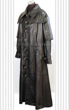 Van Helsing Mens Gothic Vampire Long Real Leather Coat | eBay