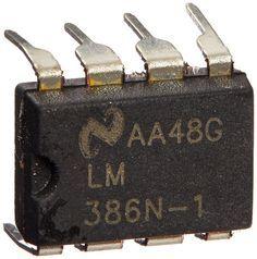 5 piezas 8 88 MSOP pines el paquete para salsas IC LM386N -1 para AM-FM Radio amplificadores: Amazon.es: Electrónica