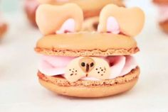 She's made Snapchat puppy filter macarons, people. This is so important.