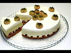 Raw Food Recipes, Cake Recipes, Food Cakes, No Bake Cake, Camembert Cheese, Biscuit, Cheesecake, Baking, Desserts