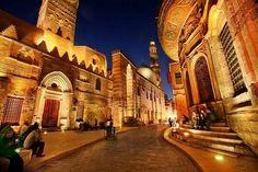 【エジプト】カイロ。 世界遺産の市場。ハーン・ハリーリ(バザール)。