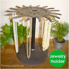 Jewelry holder--upcycled