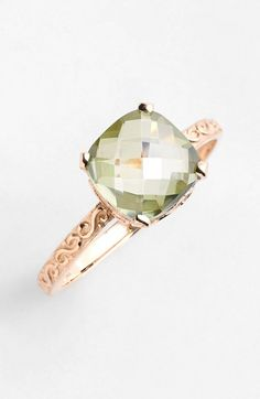 KALAN by Suzanne Kalan Cushion Stone Filigree Ring available at #Nordstrom