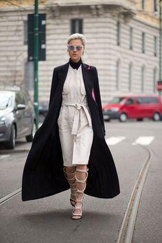 The Best Milan Fashion Week Street Style: Fall 2015