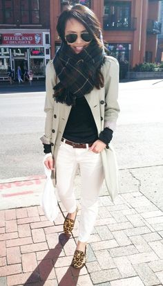 White jeans in the winter- follow www.lisilerch.com for more, like it, love it, pin it, share it!