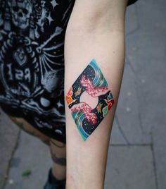 Korean tattoo artist Pitta Km
